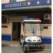 48 V CE certification 4 places électrique chariot de golf pas cher chariot de police