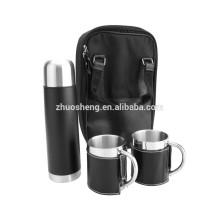 Kaffee Geschenksets Becher Edelstahl Isolierflasche 750 ML BT010