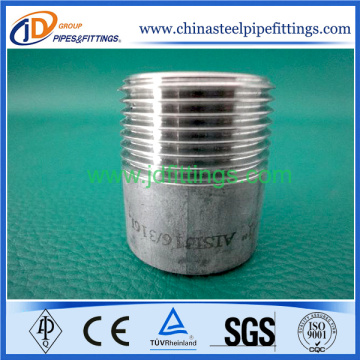 Investment Casting Stainless Steel Screwed Barrel Nipple