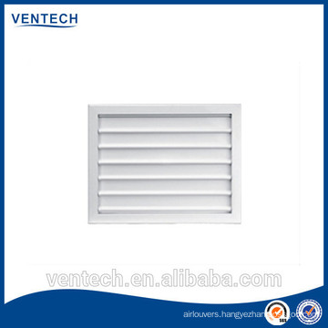 Fresh air return grille