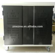 ZMEZME De Chine fabricant ordinateur portable / tablette charge panier capacité 20 pcs sync