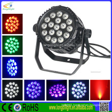 China supplier outdoor RGBW 18*10W led par light 4in1 stage par light