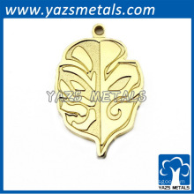 2014 fashionable gold pendant for handbags or necklace