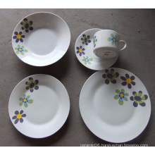 high quality custom printed ceramic dinner set wholesale