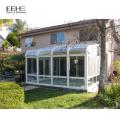 Aluminium frame sound insulation lows Sunroom with Laminated Glass
