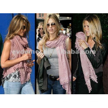 fashion wholesale lady pom pom scarf