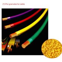 Grânulos de PVC para cabo