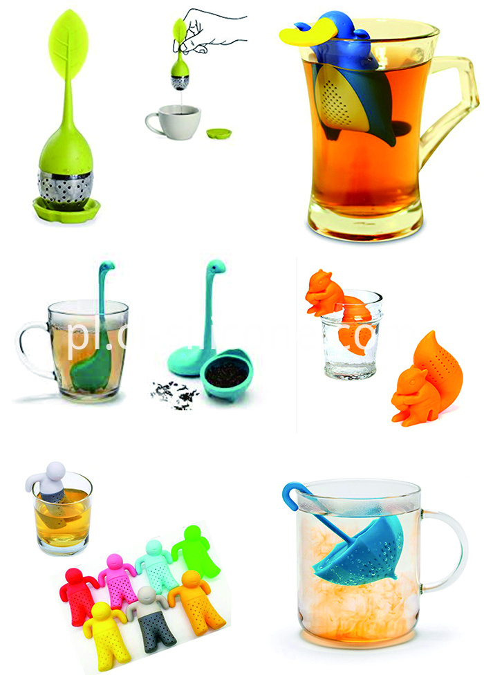 More silicone tea infuser picture