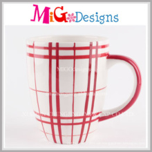 Niedrige Preis-populäre Entwurfs-Porzellan-Becher zum Frühstück