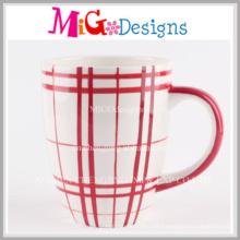 Tazas populares de la porcelana del diseño del precio bajo para el desayuno