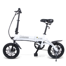 Luvgogo EU Warehouse MTB Electric Bike Small Folding Electric Bicycle Girls Full Suspension 500w Motor Electric City Bicycle 36V