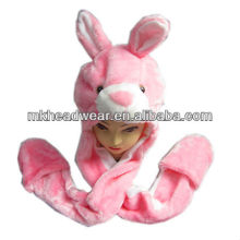 winter fashion plush animal/rabbit hat