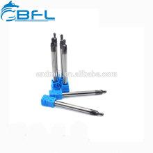 BFL Fraise en carbure de tungstène à 2 cannelures Dur Metal Duro