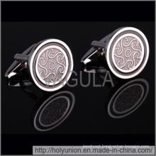 VAGULA Cuff Links Silver Male Shirt Cufflinks (Hlk31711-1)