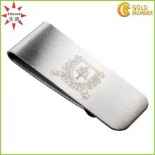 Pince à argent en métal noir personnalisé