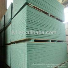 Tabla de color verde mdf 1220 2440 mm