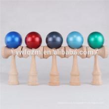 china fabricante de madeira engraçado brinquedo kendama