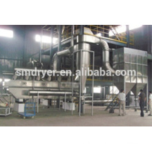 Fluid bed dryer for malic acid