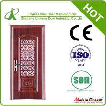 Security Door with Glazing