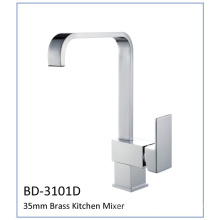Bd3101d 35mm Cartridge Brass Single Lever Kitchen Faucet