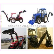 Traktor-Lader mit Löffelbagger LW-8