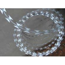 Precio competitivo Bt0-22 Galvanized Razor Barbed Wire