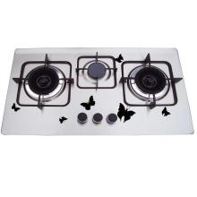 Cheap Price 201 Stainless Steel 3 Burner Gaz Hob, Gas Cooker