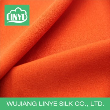 polyester microfiber material fashion fabric for maxi dress
