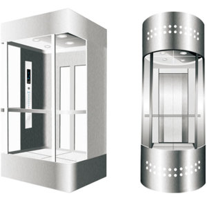 Three-side Glass Elevator