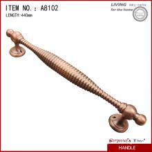 Модные ручные дверные ручки из сплава цинка для деревянной двери
