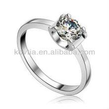925 prata china cz anéis de jóias 925 prata esterlina anel de noivado para as mulheres