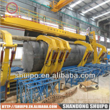 Tank rolling steel manual sheet metal rolling machine