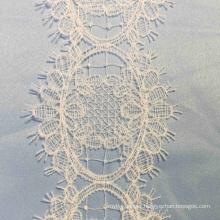 Ivory Eyelet Crochet Lace Border Trim