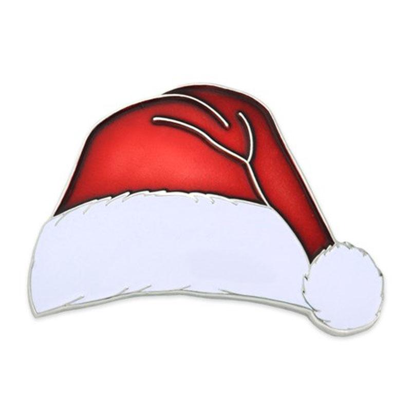 Collection Metal Christmas Santa Lapel Pin
