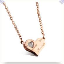 Joyería de encanto collar de acero inoxidable colgante de moda (nk232)