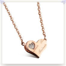 Шарм Ювелирные изделия из нержавеющей стали ожерелье моды Подвеска (NK232)