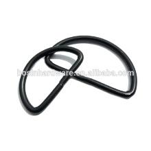 Top Verkauf guter Qualität Metall schwarz D Ring