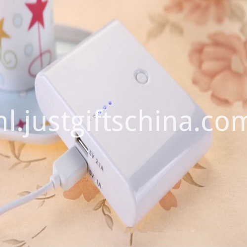 Promotional ABS Big Diamonds Power Bank 10400mAh_2