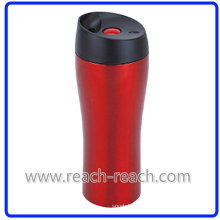 Double Wall Stainless Steel Vacuum Travel Mug (R-2328)