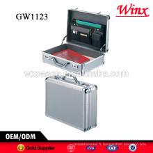 Nouvel arrivage!!! Mallette pour ordinateur chinois, valise portable en aluminium de haute qualité