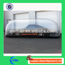 transparent inflatable car cover, bubble tent/ inflatable car cover/car cover inflatable