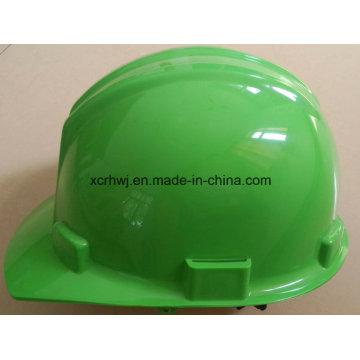 Casco de motocicleta do capacete do PEAD dos produtos plásticos, capacete de segurança do ABS, chapéus duros, capacete da guarda de Msa V
