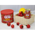 Lata de pasta de tomate en lata turca