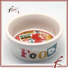 Procelain pet bowl