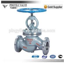 Gost acero al carbono y válvula de globo de acero inoxidable wenzhou fabricante for russian