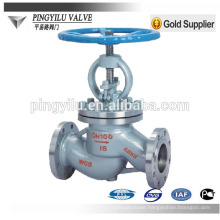 gost carbon steel and stainless steel globe valve wenzhou manufacturer for russian