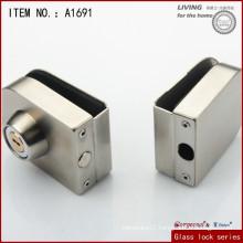 Zinc alloy glass door lock and Sliding Central Glass Door Lock