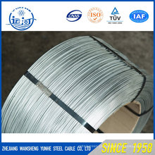 Arame de aço galvanizado para aço ACSR