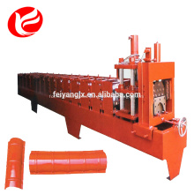 Ridge cap aluminum sheet roof roll forming machine