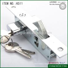 wholesale furniture hardware wooden sliding door with lock